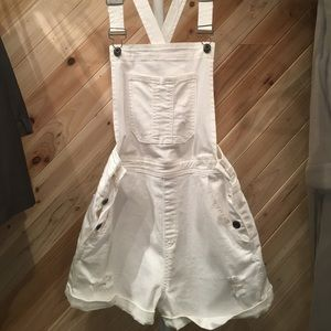 White Boutique Overalls. Fit like 8